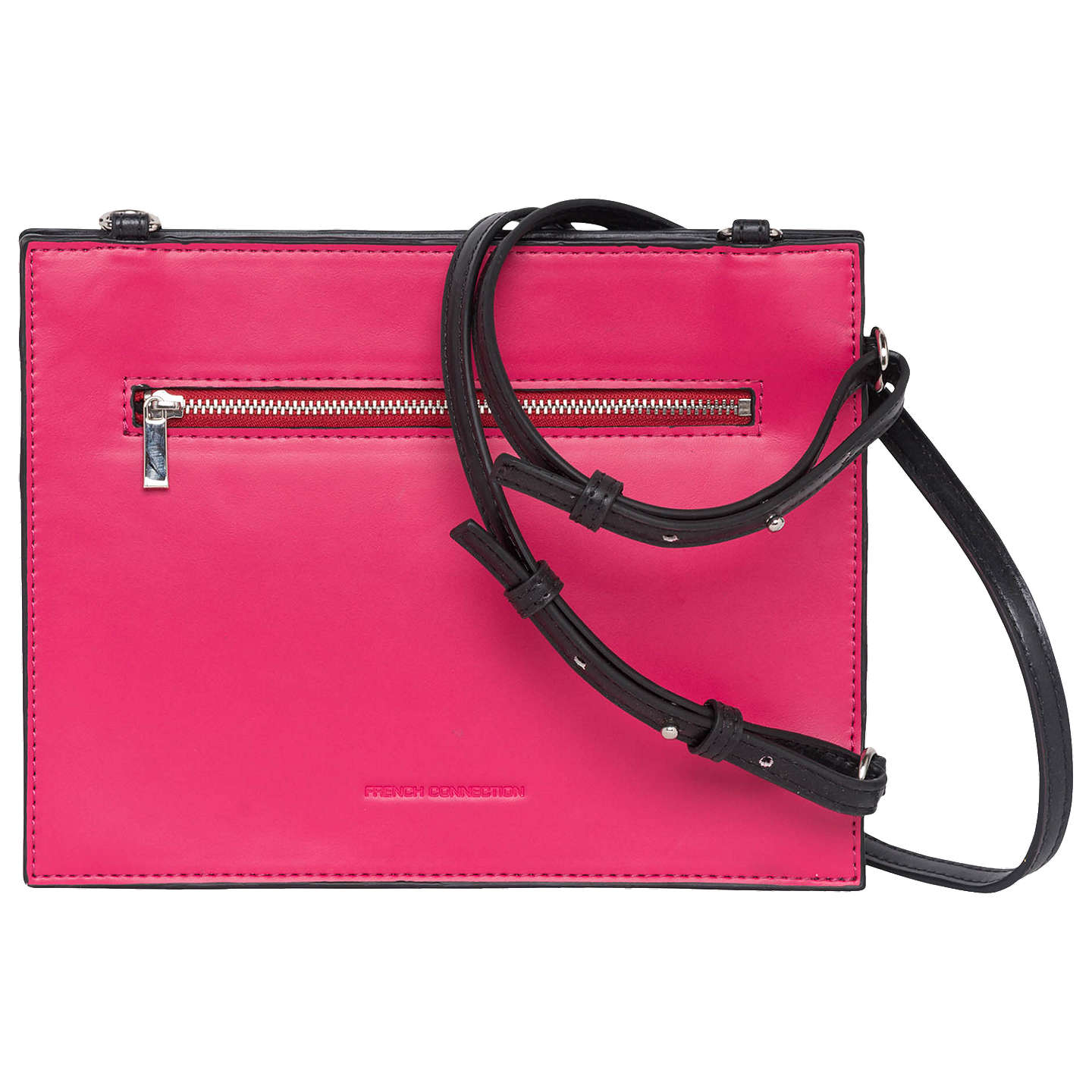 Upside Down Crossbody Bag - Black/magenta French Connection 9L2C3B