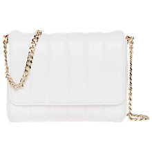 Buy French Connection Ruby Cross Body Bag, Linen Online at johnlewis.com
