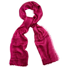 Buy Phase Eight Verity Shawl, Magneta Online at johnlewis.com
