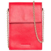 Buy French Connection Betty Rectangular Cross Body Bag, Shanghai Red Online at johnlewis.com