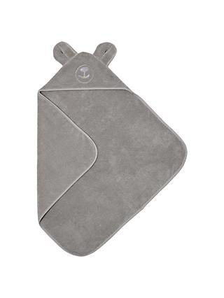The Little Green Sheep Organic Cotton Bear Hooded Towel