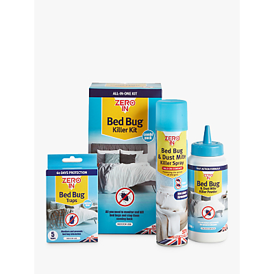 Zeroin Bed Bug & Dust Mite Killer Spray Bundle