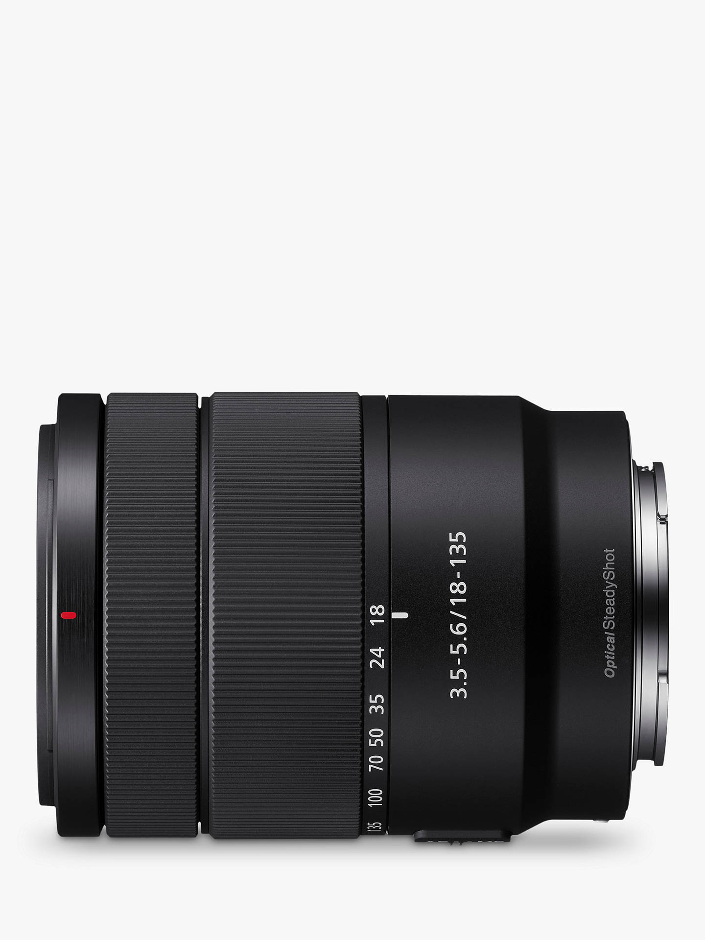 BuySony SEL18135 E 18-135mm f/3.5-5.6 OSS Wide-Angle Zoom Lens Online at johnlewis.com