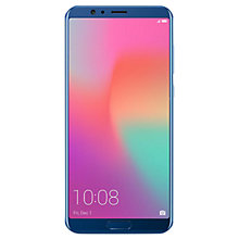 "Buy Honor View 10, Android, 5.99"", 4G LTE, SIM Free, 128GB, Blue Online at johnlewis.com"
