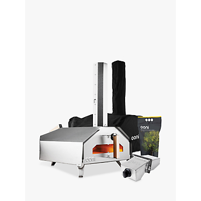 Image of Uuni Pro Large Outdoor Pizza Oven, Cover, Burner and Pellets Set