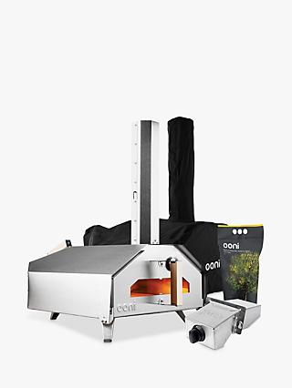 Uuni Pro Large Outdoor Pizza Oven, Cover, Burner and Pellets Set