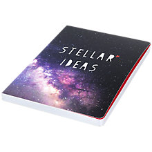 Buy Bellybutton Bubble Stellar Ideas Notebook Online at johnlewis.com