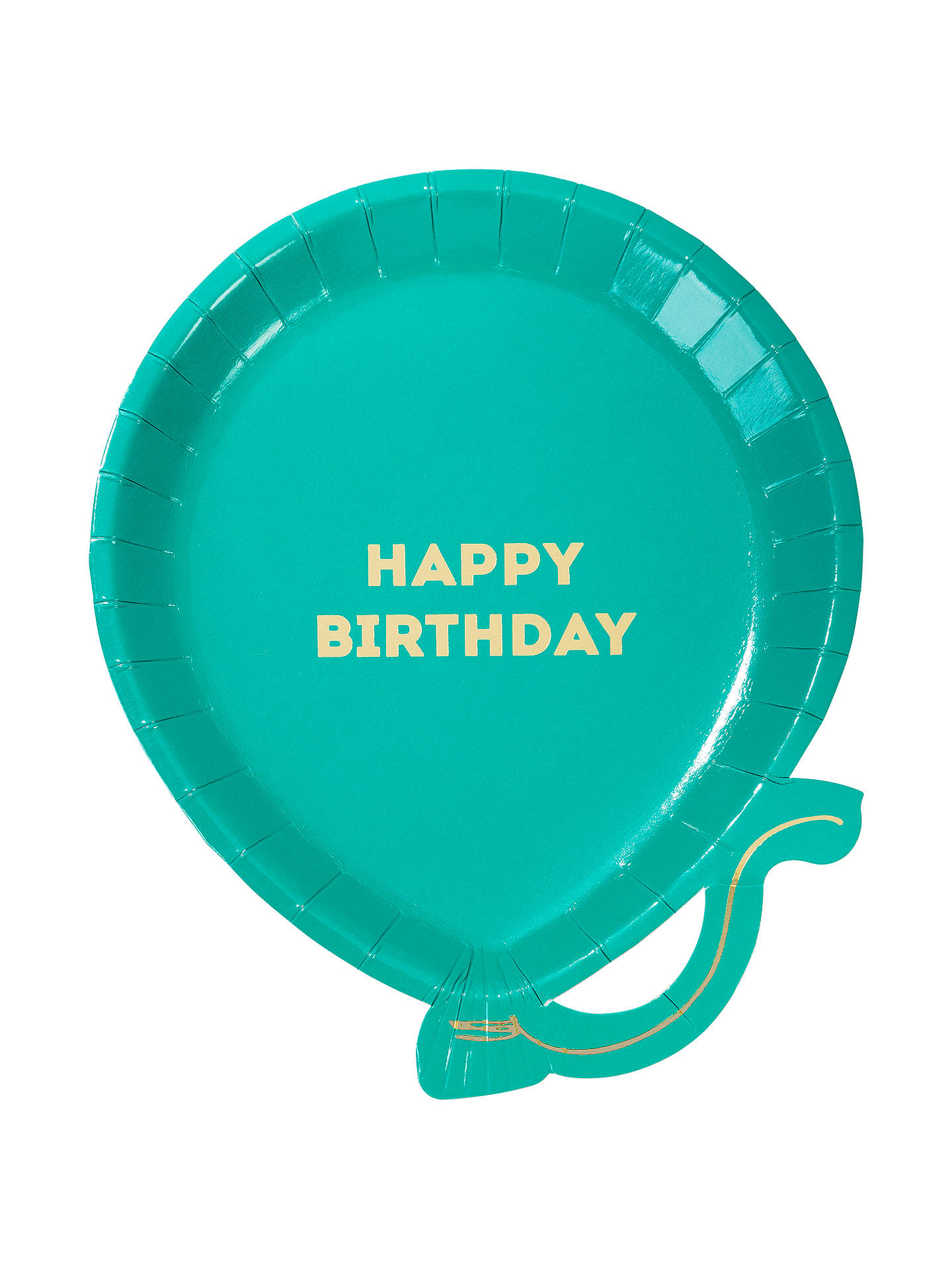 BuyTalking Tables Brights Balloon Plates, Pack of 8 Online at johnlewis.com