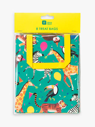 Buy Talking Tables Party Animal Treat Bags, Pack of 8 Online at johnlewis.com