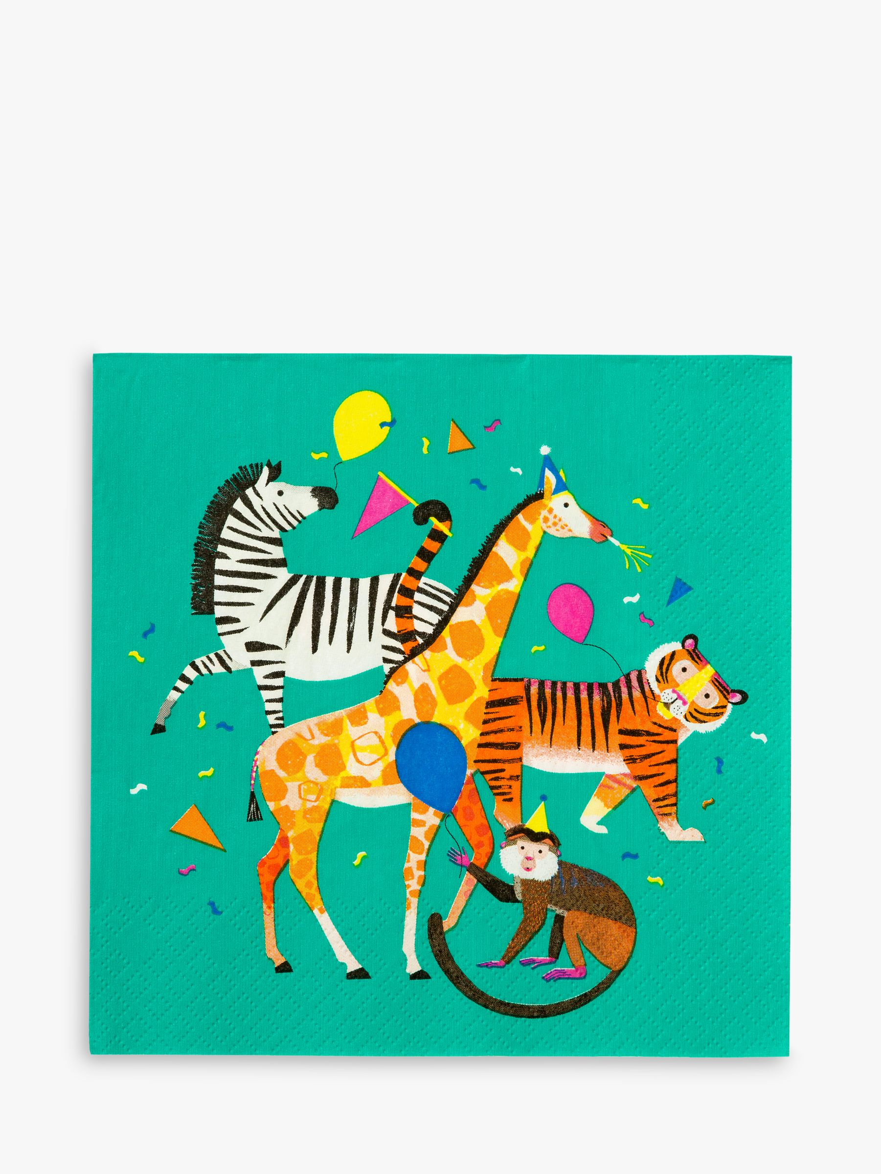 Talking Tables Talking Tables Party Animal Napkins, Pack of 20