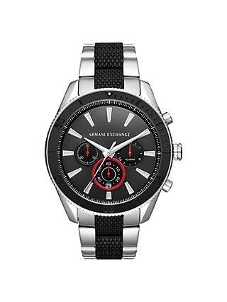 Armani Exchange Men's Chronograph Bracelet Strap Watch