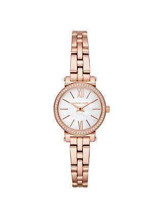 5d0523efa3a Michael Kors MK3834 Women s Petite Sofie Bracelet Strap Watch