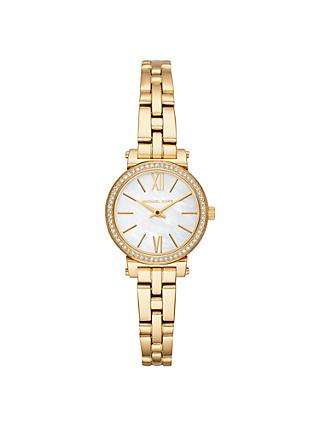 75035eb9f5 Michael Kors MK3833 Women s Petite Sofie Bracelet Watch