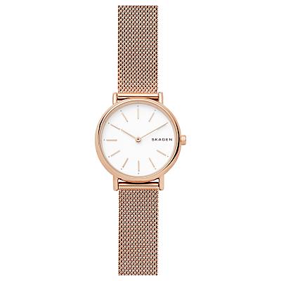 Skagen Signatur Women's Leather Strap Watch