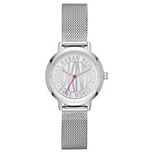 Buy DKNY NY2672 Modernist Women's Stainless Steel Watch, Silver Online at johnlewis.com