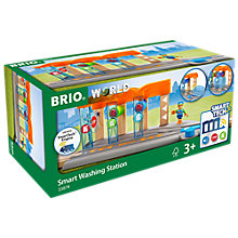 Buy Brio Smart Railway Washing Station Set Online at johnlewis.com