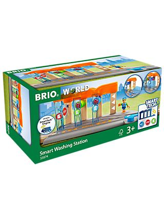 Brio World Smart Tech Railway Washing Station