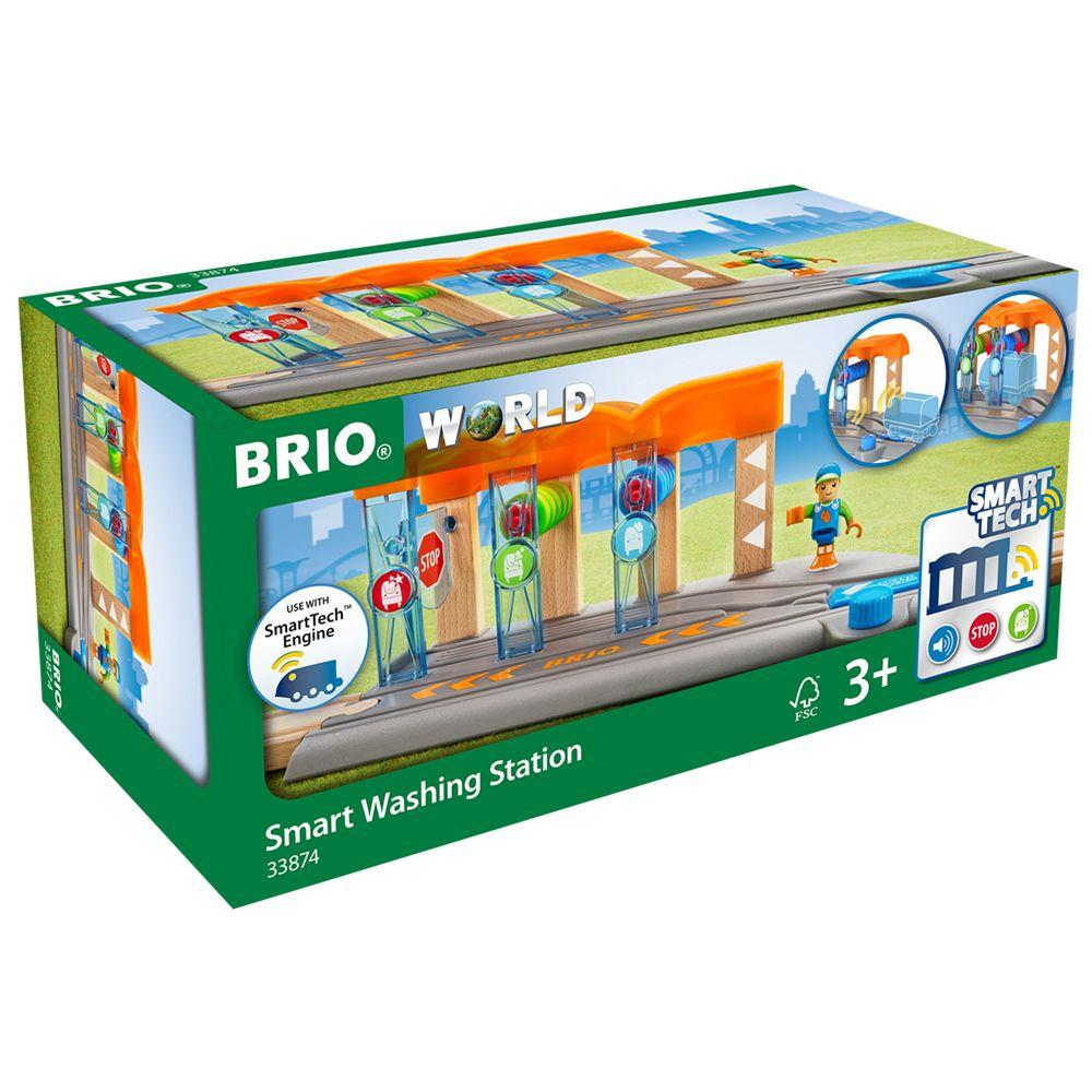 BRIO BRIO World Smart Tech Railway Washing Station