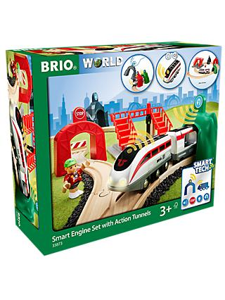 Brio Smart Railway Engine Set with Action Tunnels