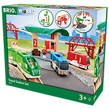 Buy Brio Travel Station Set Online at johnlewis.com