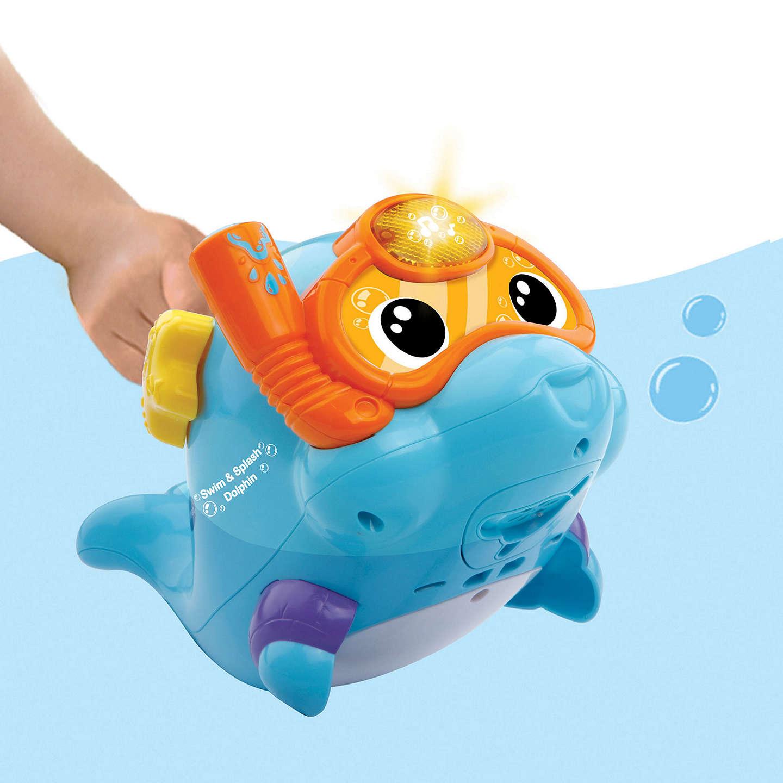 Bath Toy Buddy Dophin: VTech Swim & Splash Dolphin Bath Toy At John Lewis