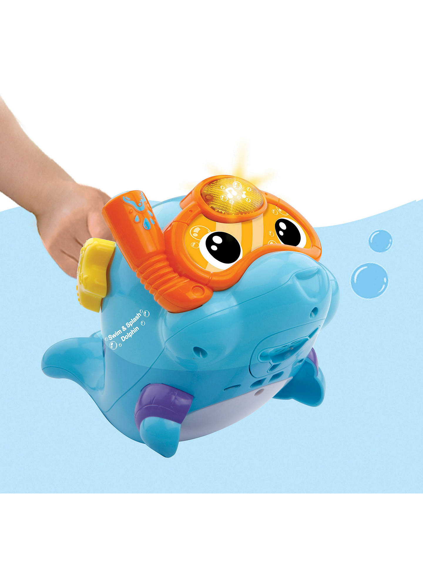VTech Sing and Splash Fish Bath Toy Play Fun Clean Learning With Sounds