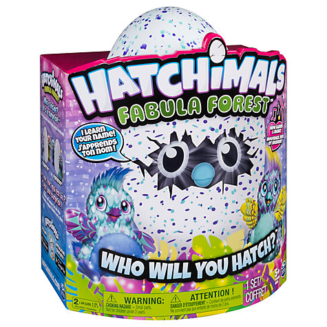 Hatchimals Fabula Forest Puffatoo Online At Johnlewis Com