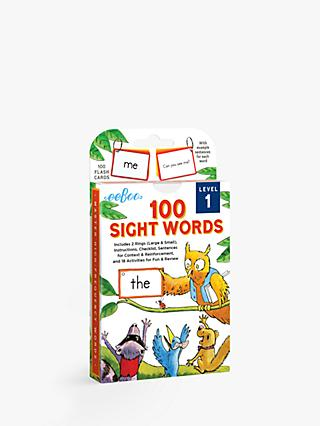 Eeboo 100 Sight Words Level 1 Flash Cards