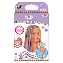 Buy Galt Fab Hair Extension and Chalks Kit Online at johnlewis.com