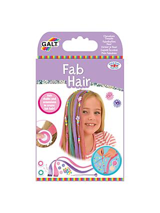 Galt Fab Hair Extension and Chalks Kit