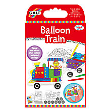 Buy Galt Colour In Balloon Train Kit Online at johnlewis.com