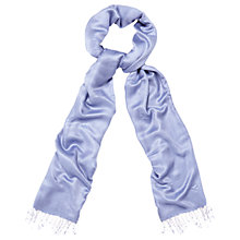 Buy Phase Eight Diamond Weave Shawl, Bluebell Online at johnlewis.com