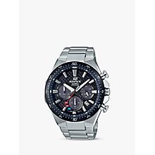 Buy Casio Men's Edifice Scuderia Toro Rosso Formula One Chronograph Date Bracelet Strap Watch Online at johnlewis.com