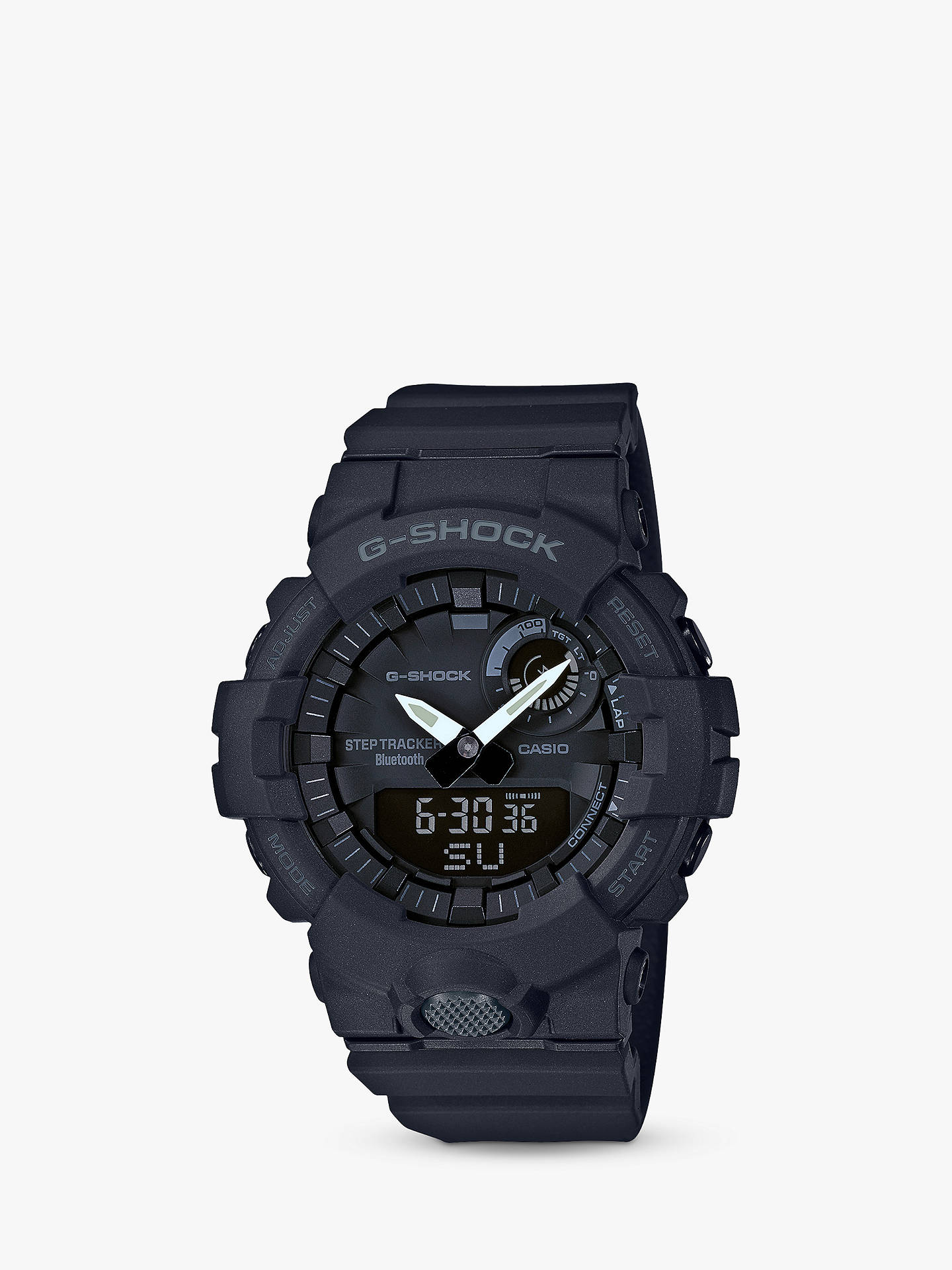 Casio Mens G Shock Step Tracker Bluetooth Resin Strap Watch At John