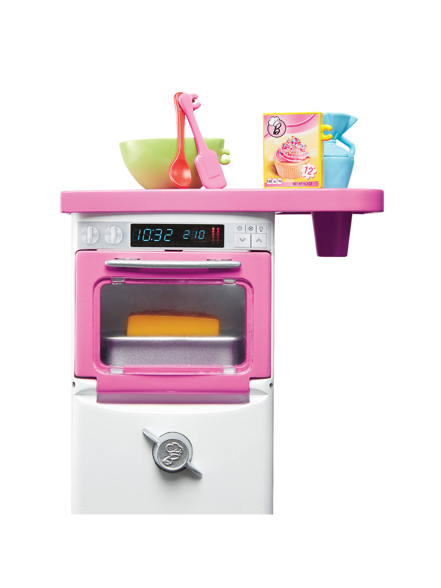 Buy Barbie Bakery Chef Doll and Oven Playset Online at johnlewis.com