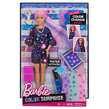Buy Barbie Colour Surprise Doll Online at johnlewis.com
