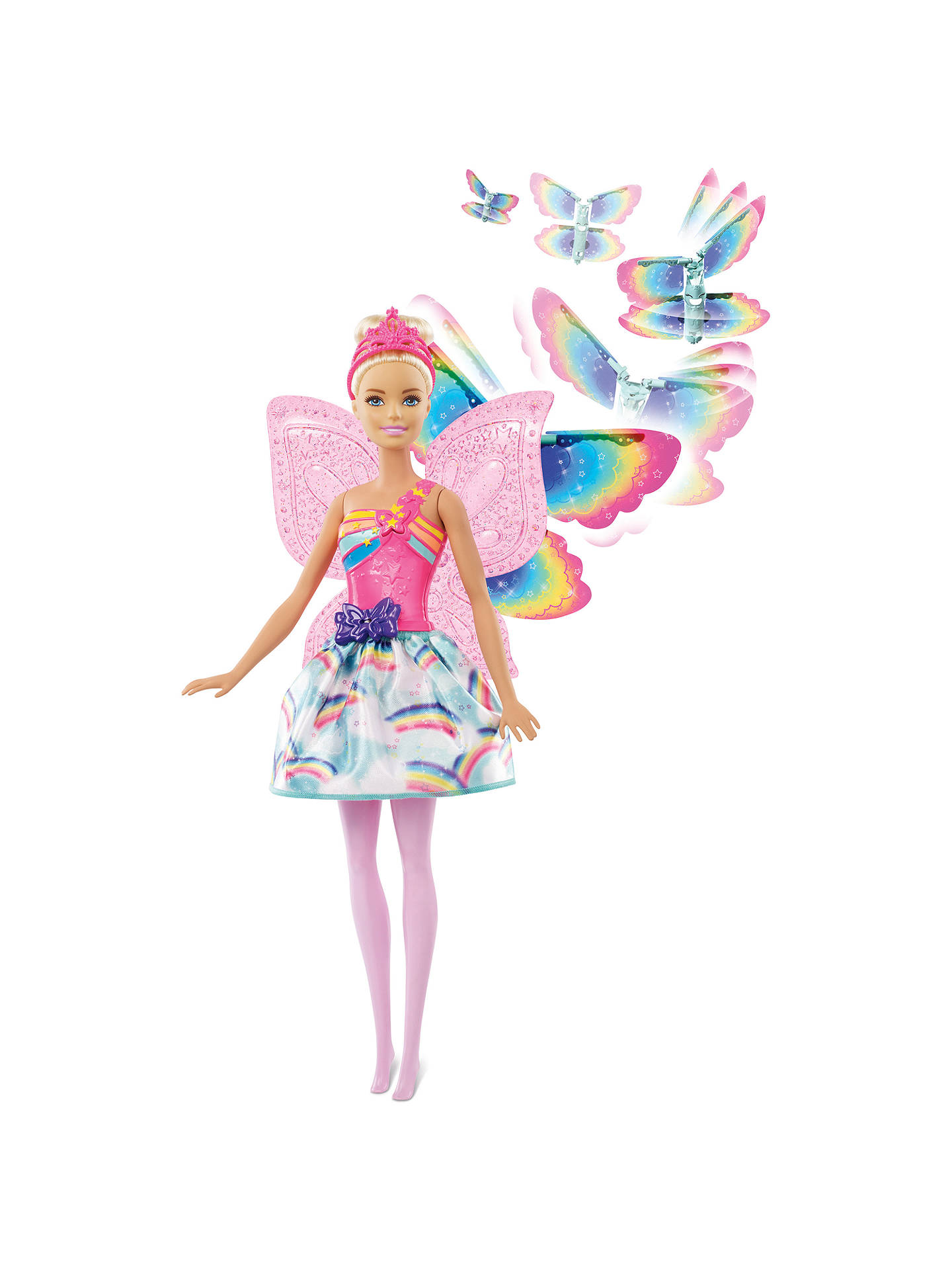 BuyBarbie Dreamtopia Flying Wings Fairy Doll Online at johnlewis.com