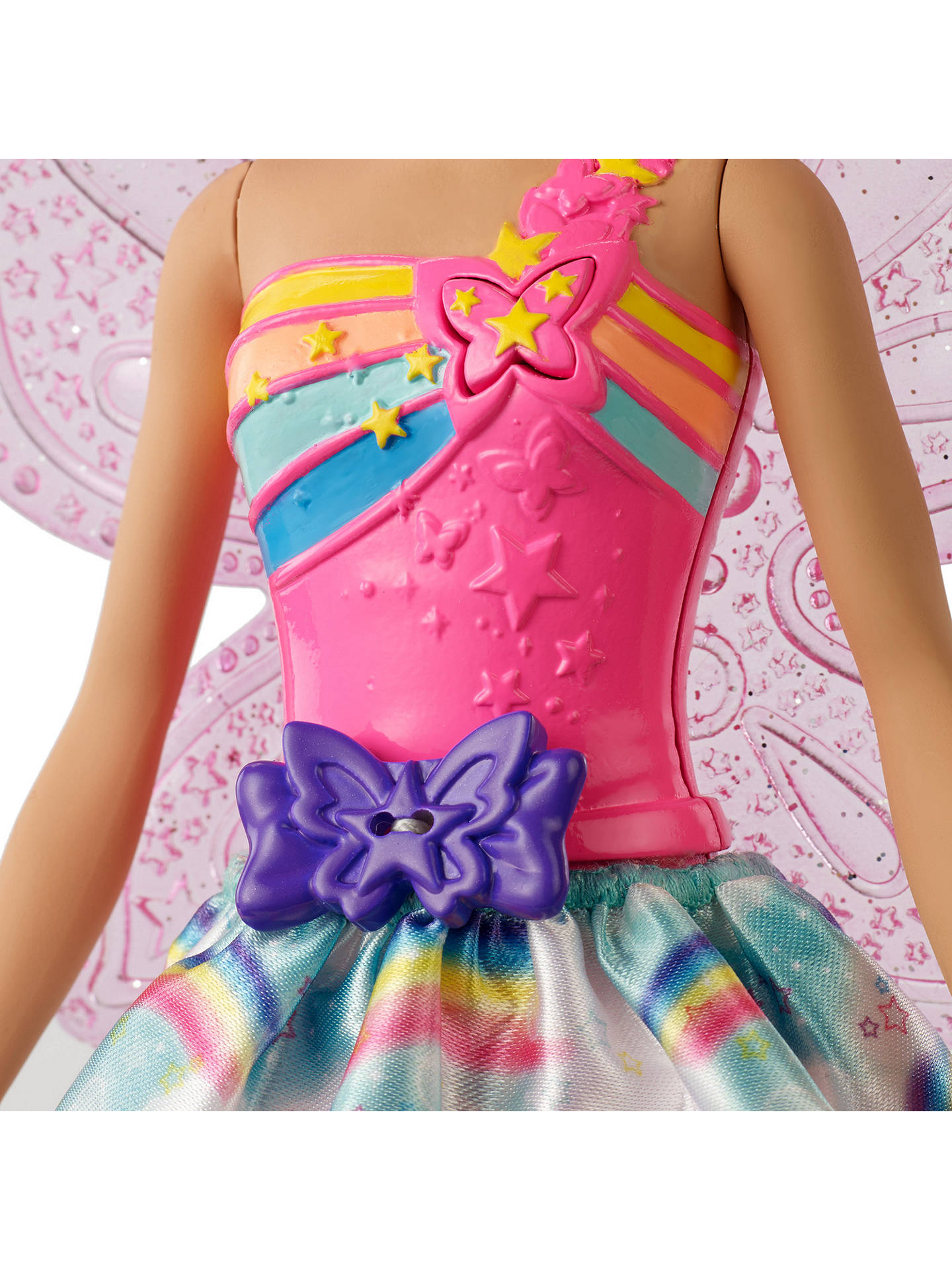 Buy Barbie Dreamtopia Flying Wings Fairy Doll Online at johnlewis.com