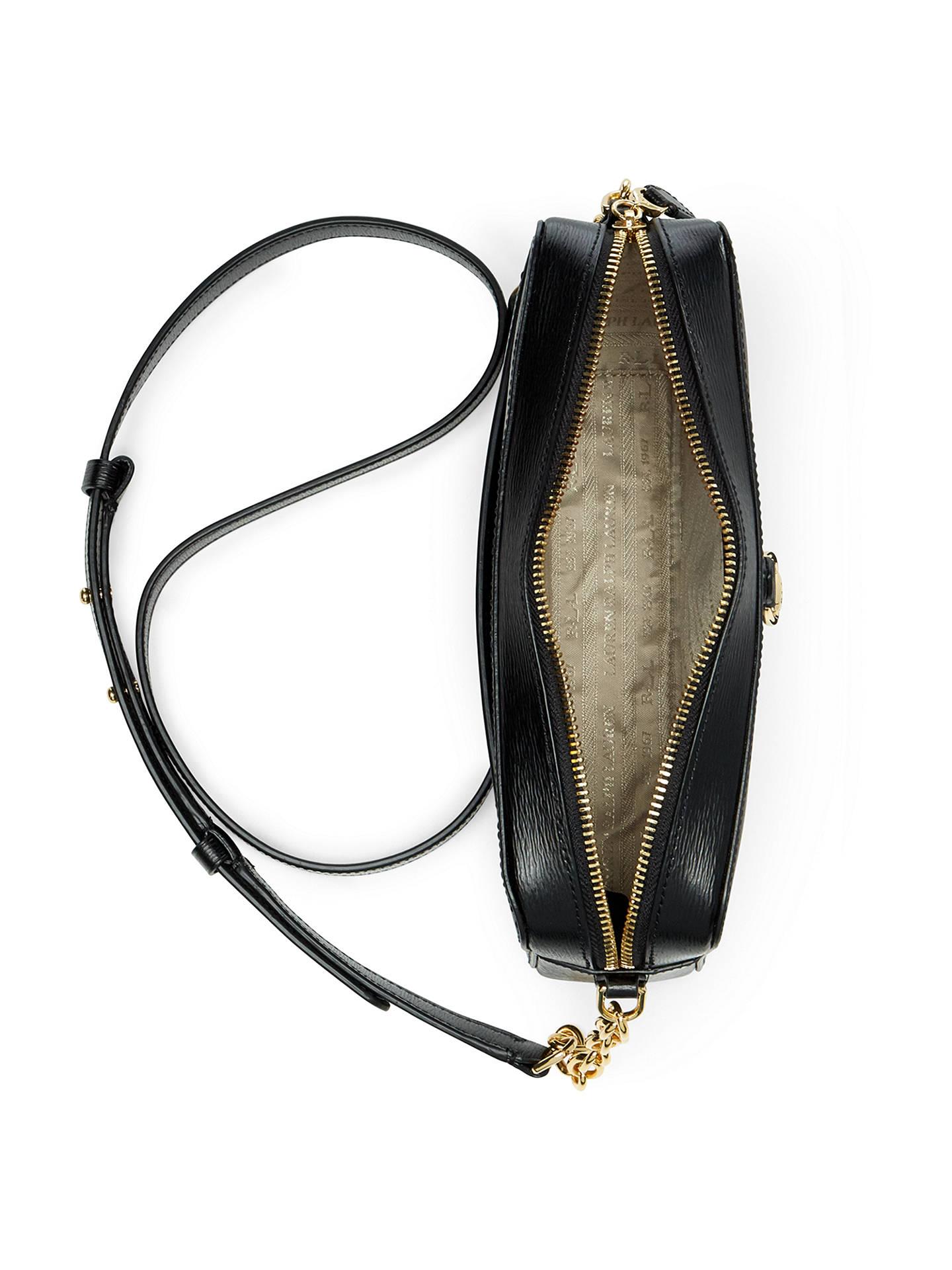 5576dd2ec ... Buy Lauren Ralph Lauren Bennington Camera Cross Body Bag, Black Online  at johnlewis.com ...