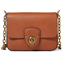 Buy Lauren Ralph Lauren Small Chain Cross Body Bag, Lauren Tan Online at johnlewis.com