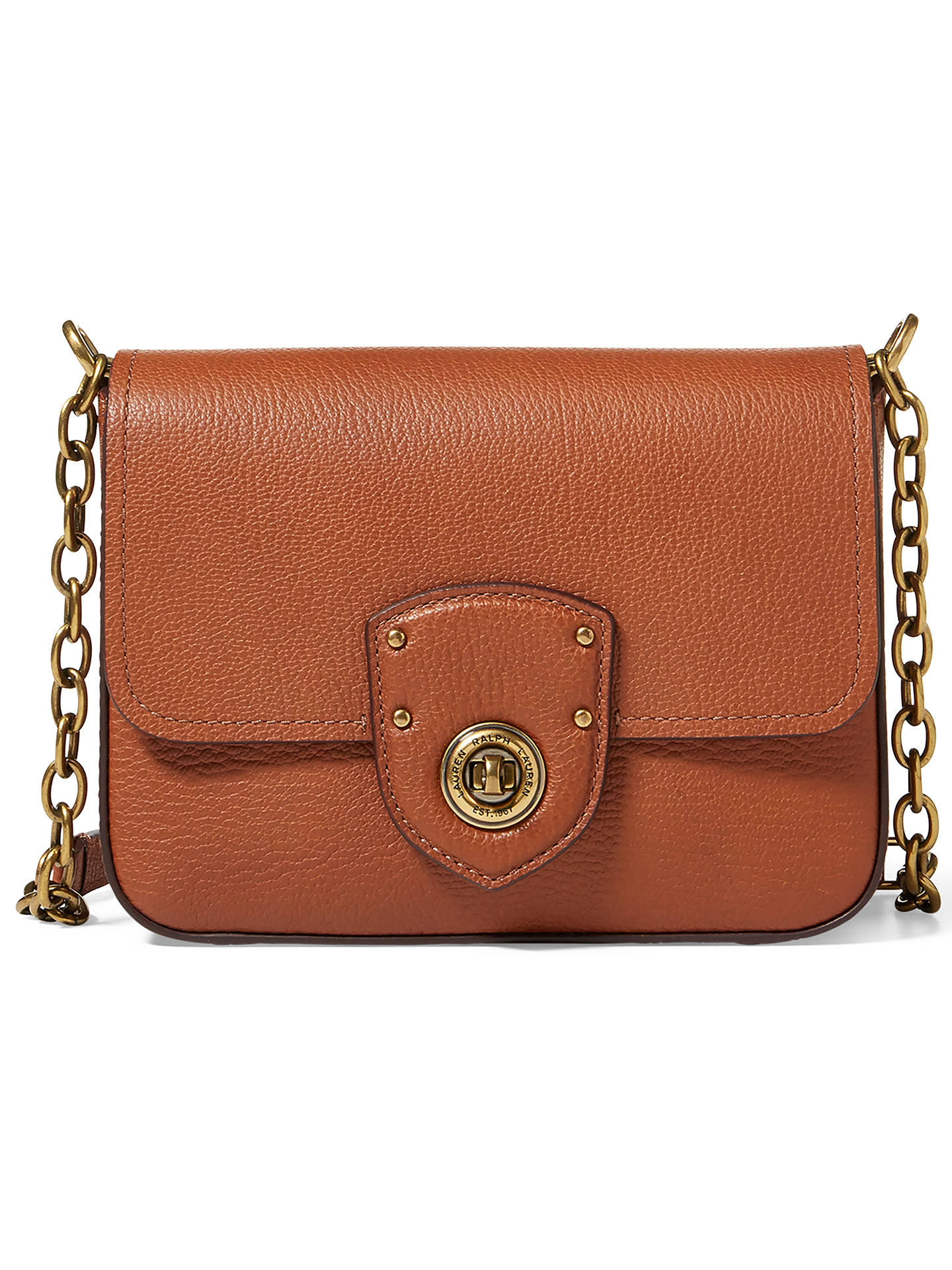 1b0a6d1962 ... coupon code for buylauren ralph lauren small chain cross body bag  lauren tan online at johnlewis