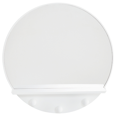 Great Little Trading Co Lunar Mirror, White