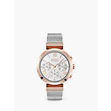 Buy HUGO BOSS 1502427 Women's Classic Watch, Silver Online at johnlewis.com