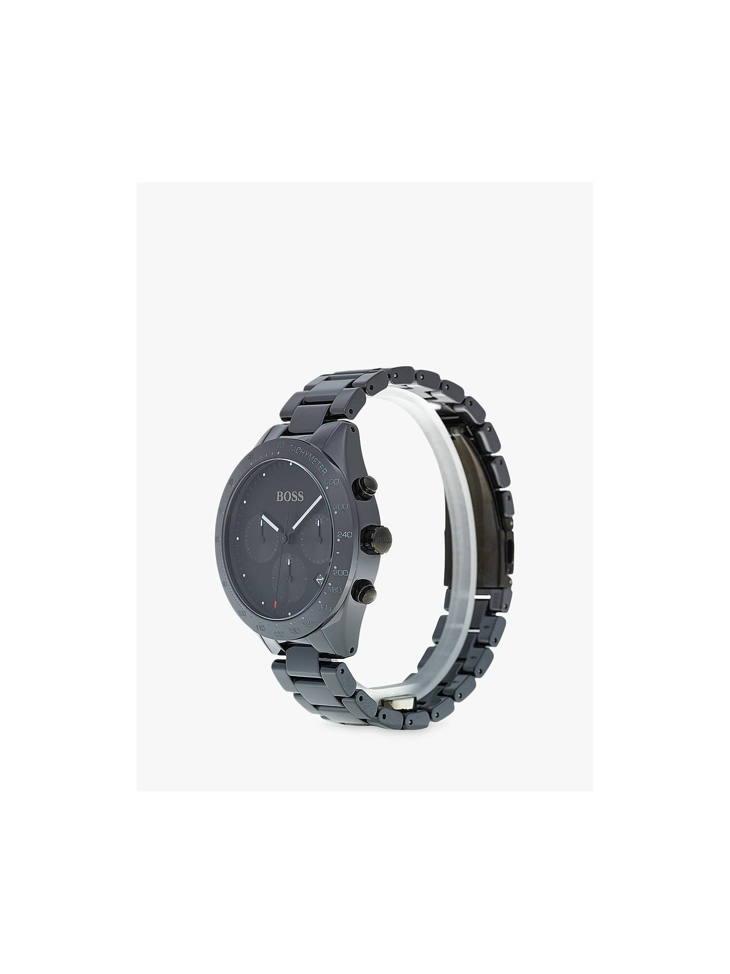 9eac36dc8e5d7 HUGO BOSS 1513581 Men s Talent Chronograph Bracelet Strap Watch ...