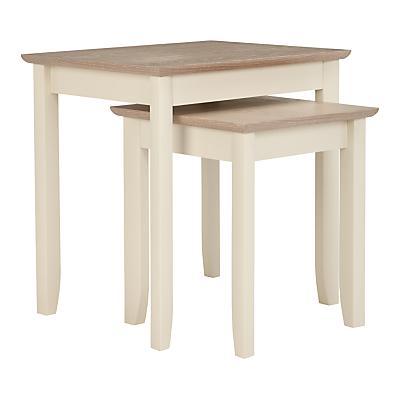 John Lewis & Partners Alba Nest of 2 Tables