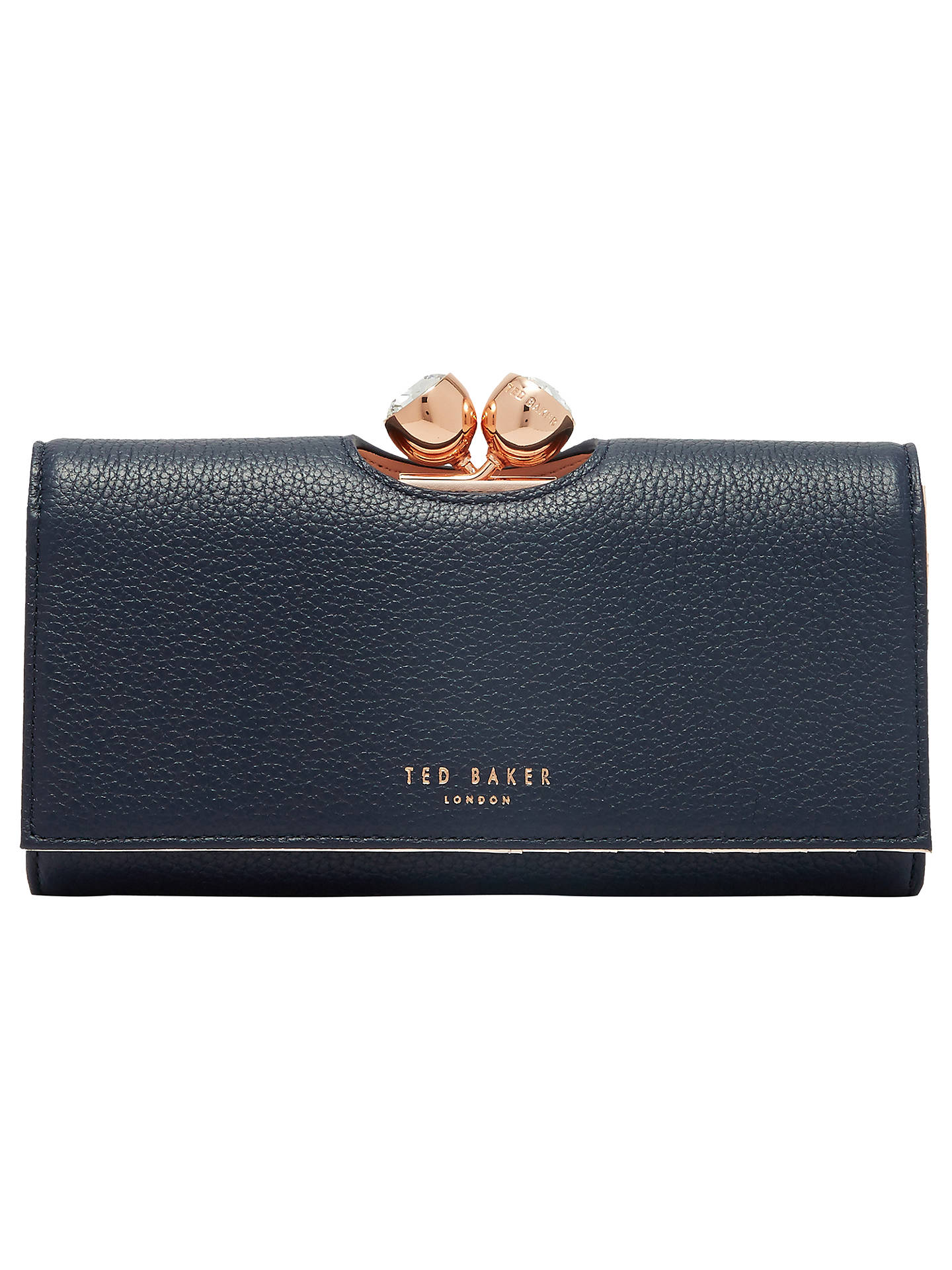 22395051fa3 Buy Ted Baker Tammyy Matinee Purse, Navy Online at johnlewis.com ...