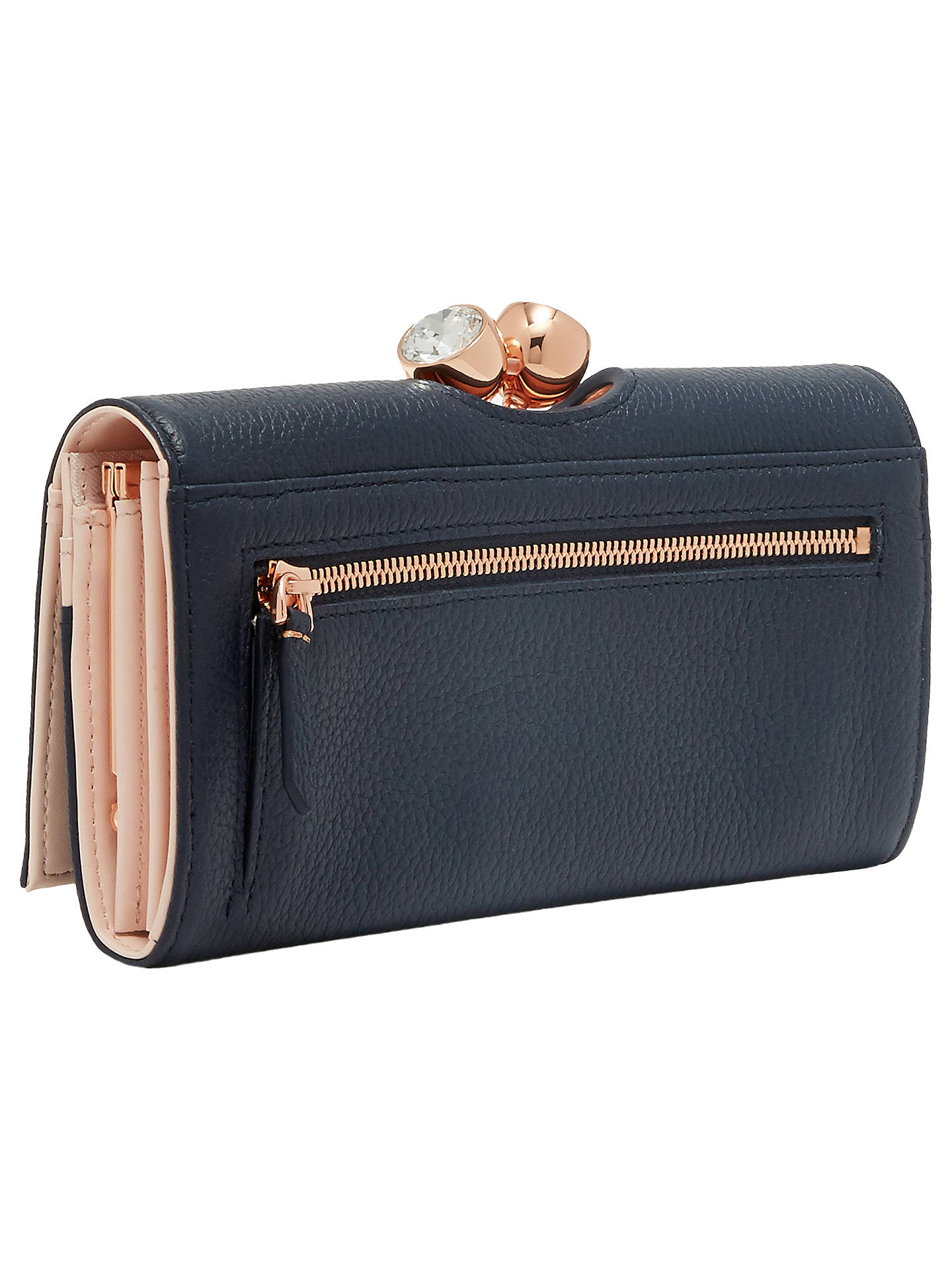 e2747567040 ... Buy Ted Baker Tammyy Matinee Purse, Navy Online at johnlewis.com ...