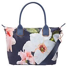 Buy Ted Baker Orsja Chatsworth Small Tote Bag, Navy Online at johnlewis.com