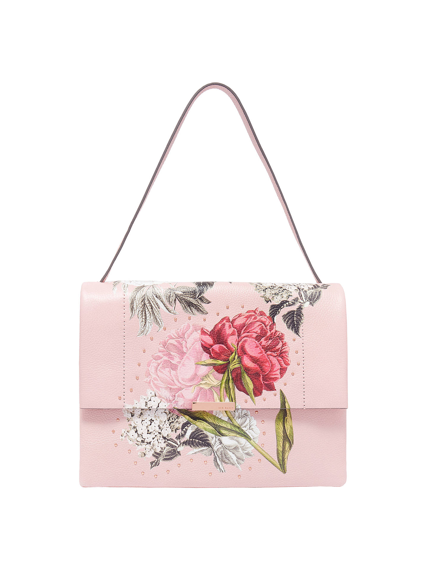 0a6e850165be Buy Ted Baker Peonii Palace Gardens Leather Shoulder Bag