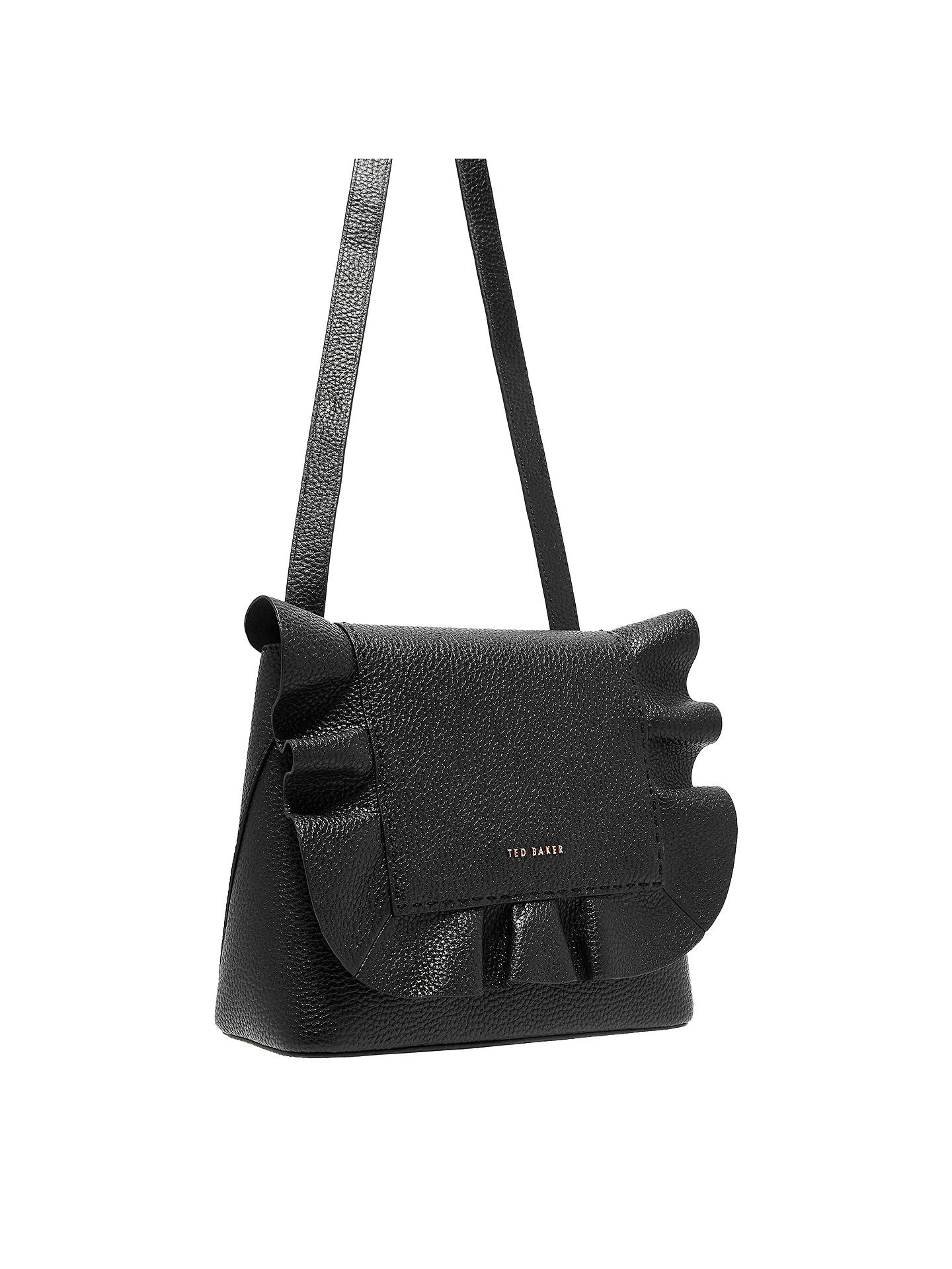 83e1262202fdbd Ted Baker Rammira Leather Shoulder Bag at John Lewis   Partners
